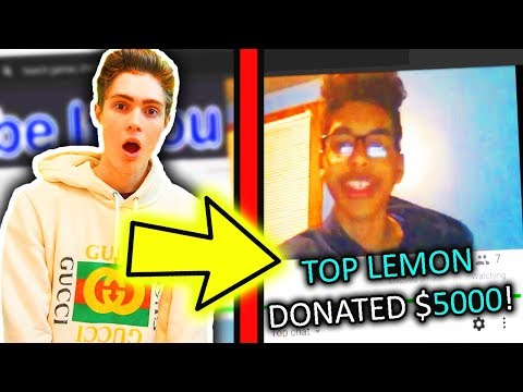 I Donated Money To This Roblox YouTuber And He Donated Back..