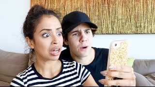 COUPLE READING DIRTY FAN FICTION!!