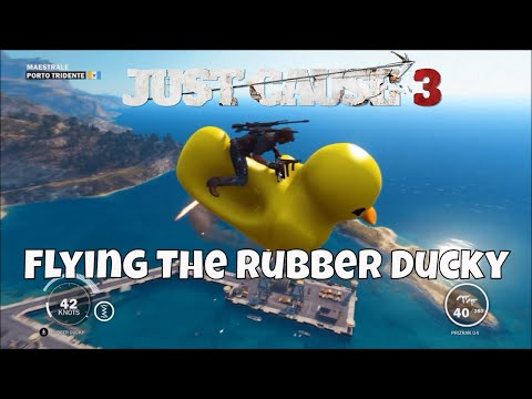 Just Cause 3 Rubber Ducky Easter Egg Flight