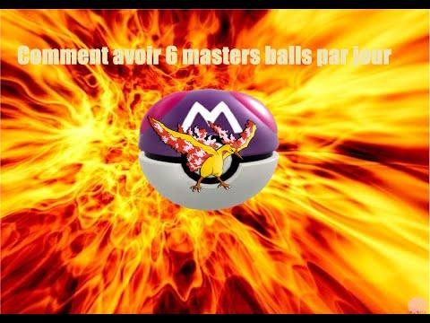 [TUTO]Comment avoir 6 masters balls par jour (sans tricher)