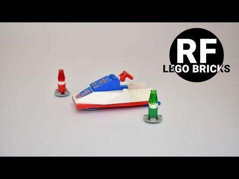 LEGO SYSTEM 6517 - Jet ski, bricks building
