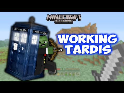 Minecraft Xbox - Poison Survival - 59 - WORKING TARDIS!!!