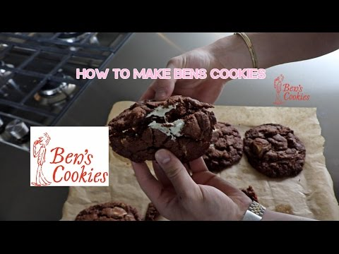 How to make Ben's Cookies AT HOME