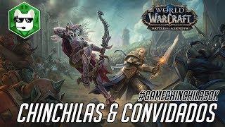 Live! #GAMECHINCHILA50K - Chinchilas Jogam World of Warcraft!