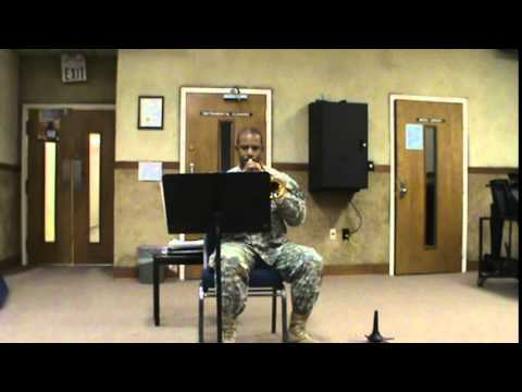 Army Band Audition for SSGT HANDY
