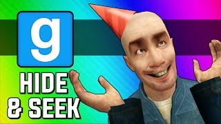 Gmod Hide and Seek Funny Moments - Oooo Meter, Pizza Vs. Chicken, 100 Dollar Spot (Garry