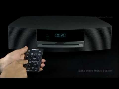 Bose Wave Music System - How to store a Radio Station to Memory as Preset