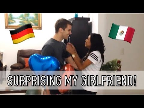 Long Distance Relationship Surprise - Germany to Mexico