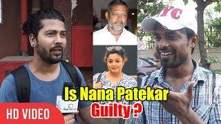 Public Reaction On Tanushree Dutta And Nana Patekar Controversy