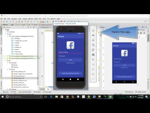 FACEBOOK CLONE | ANDROID STUDIO | ANDROID APPLICATION