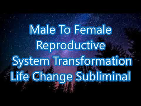 Male To Female Reproductive System Transformation - Life Change Subliminal