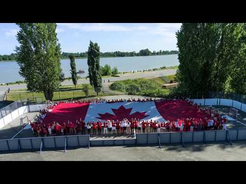 The Richmond RCMP wanted to do something special for #Canada150