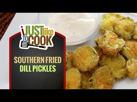 Southern Fried Dill Pickles Recipe