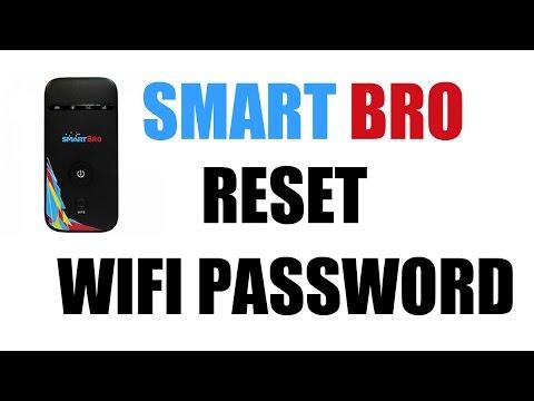 How to Reset Smart Bro Pocket WiFi Password