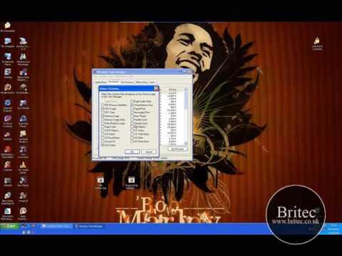 Computer Repair Windows XP Virtual Memory Settings by Britec