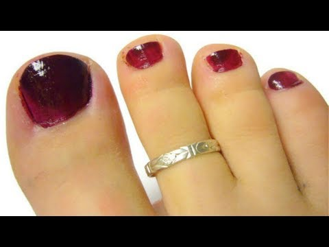 Latest Silver Toe Ring Designs For Indian Women