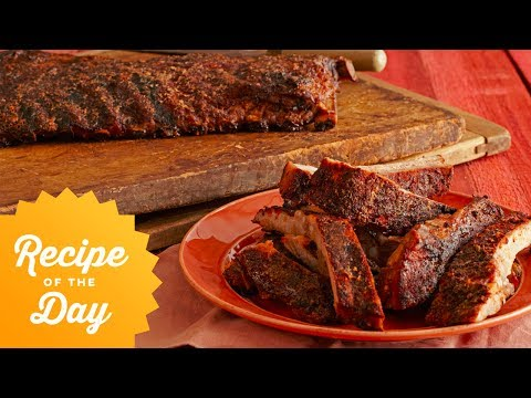 Recipe of the Day: Bobby's 5-Star Spice-Rubbed Smoked Ribs   Food Network
