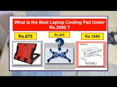 The Best Laptop cooling pad under Rs 2000