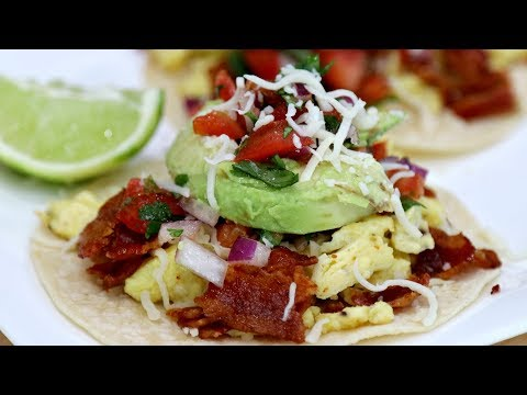 EASY BREAKFAST TACOS!