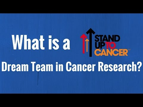 What is a Stand Up 2 Cancer Dream Team in Cancer Research?