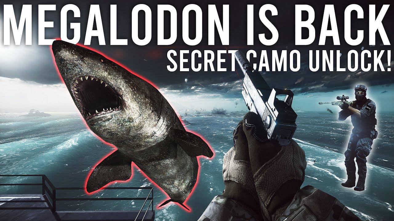 Battlefield 4 Megalodon is BACK with a SECRET UNLOCK!