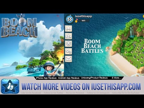 Boom Beach Battles: IUTA vs Hammermans HQ - Boom Beach