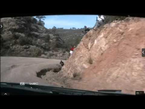 Onboard Kubica rally Catalunya-costa Daurada ss6 2015