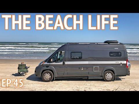 Padre Island National Seashore - Beach Camping in Texas
