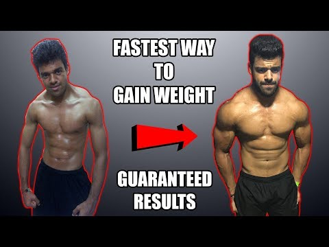 How To Gain Weight Fast In 15 Days