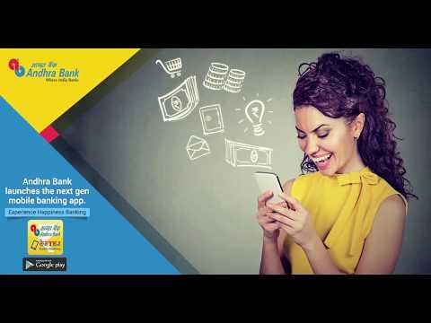 Andhra Bank Mobile Banking App - AB TEJ