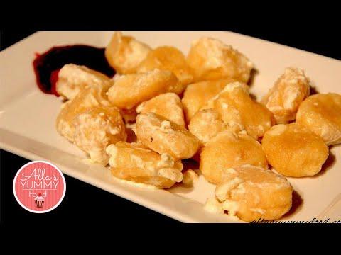 Lazy Vareniki Recipe, Cheese Dumplings - Ленивые вареники с творогом