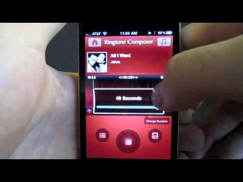 Ringtone Composer iPhone app - Create unlimited free ringtones for iPhone