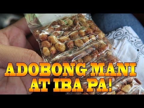 Adobong Mani at iba pa!! (26-Aug-2016) Udenhone's Channel