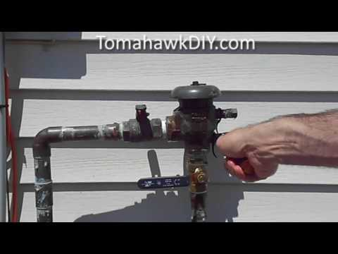 Broken Backflow Preventer, How to Repair