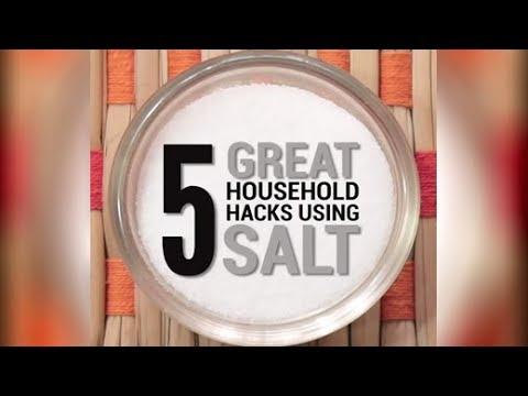 5 Great Household Hacks Using Salt | Salt Hacks | Quick & Easy Salt Hacks