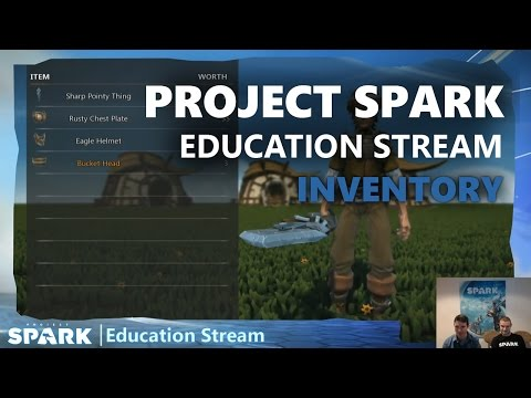 Project Spark Education Stream: Creating an Inventory (Part 1)