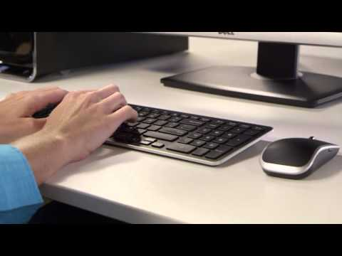 32d4e6684ca How to Repair Dell Wireless Keyboard and Mouse combo Logitech - Dell ...