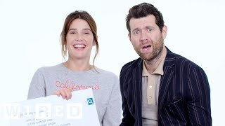 Billy Eichner & Cobie Smulders Answer the Web