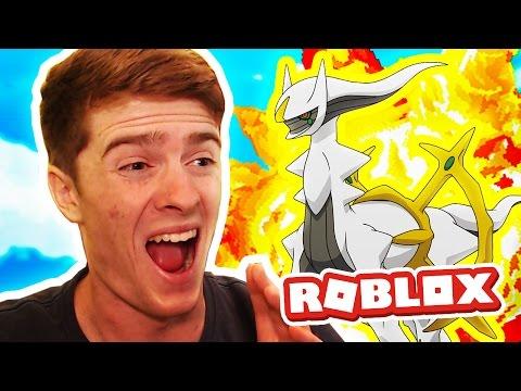 ARCEUS & DIALGA! / Pokemon Legends / Roblox Adventures