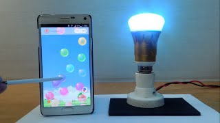 Mind Blowing! Watch How This LED Bulb Can be Controlled Via Smartphone in India