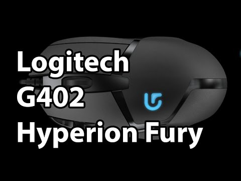 Logitech G402 Hyperion Fury Gaming Mouse - Give a Mouse an Accelerometer