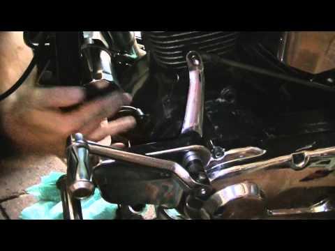 Softail heritage change engine oil and oil filter Harley Davidson EVO 1340cc 80ci