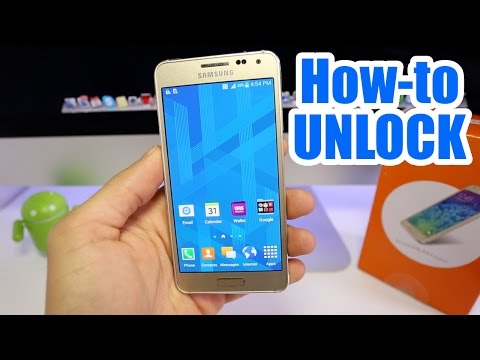 How To Unlock Samsung Galaxy Alpha - For ANY carrier (AT&T, T-mobile, Rogers, O2, Vodafone, etc..)
