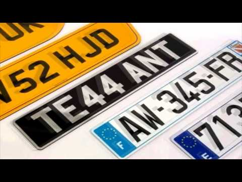 GB Show Plates UK's Best Number Plate Maker
