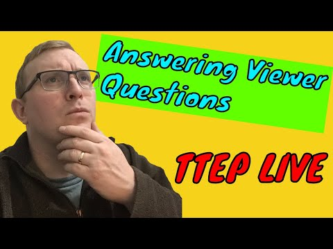 Answering Viewer Questions - Tom The English Picker Live Stream
