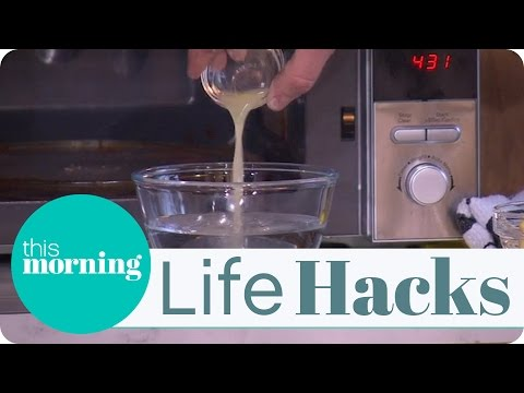 Life Hacks - Clean Your Microwave The Easy Way