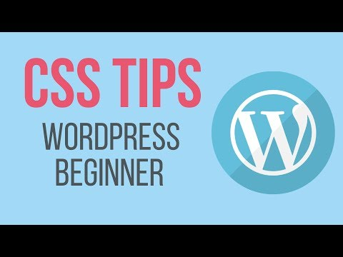 How to Customize any WordPress Website Theme - WordPress CSS Tricks
