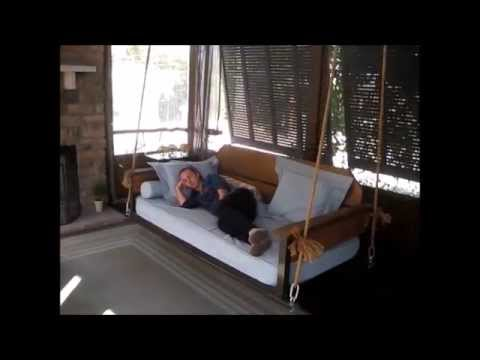 A Porch Bed Swing that You Will Love