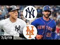 New York Yankees Vs New York Mets Highlights July 2 2019