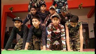 Jigra hai | Army Dance by students | Republic day | skips biraul Darbhanga | URI the surgical strike